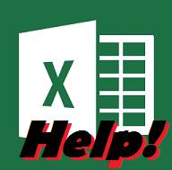 Excel Statistics Help