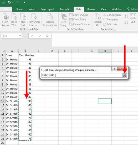 How to Perform a T-Test in Excel 6
