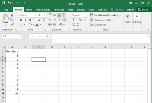 Descrpitive Statistics in Excel - Figure 0
