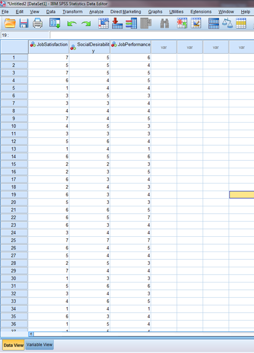 Regression in SPSS 1