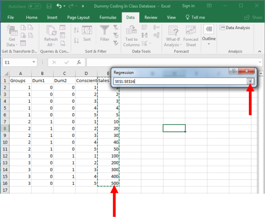 Dummy Coding in Excel 7