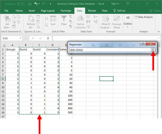 Dummy Coding in Excel 9