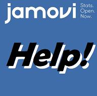 Jamovi Help